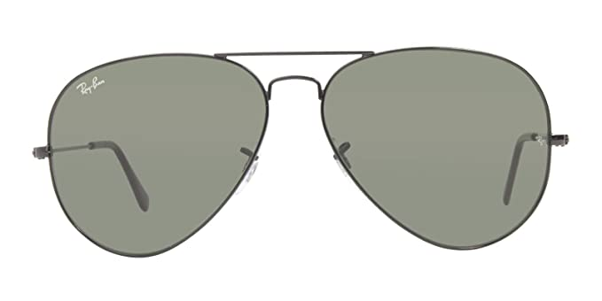 c33e6589be Image Unavailable. Image not available for. Color  RAY BAN 3026 AVIATOR  BLACK ...