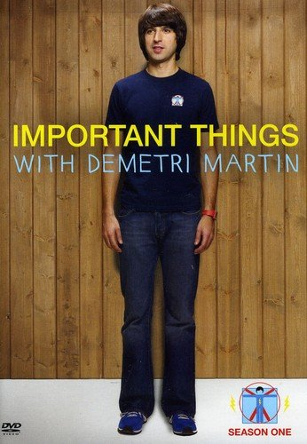 DVD : Barry Carl - Important Things With Demitri Martin: Season One (Full Frame, Dolby)