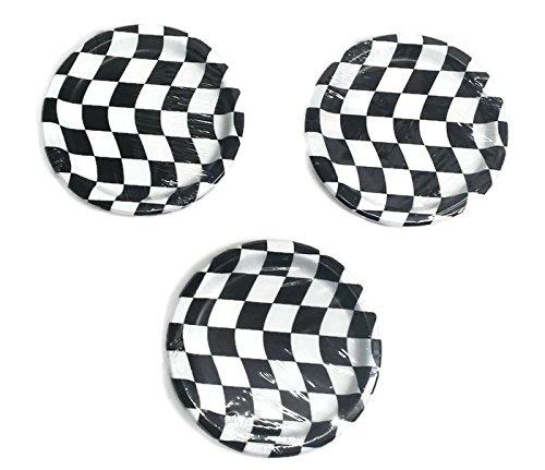 Open Wheel Indy Car Racing Checkard Flag Party 7