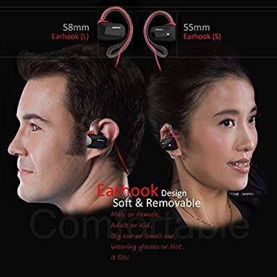 Jabees Bsport-BLE tooth V4.1 Lightweight Stereo Headphones with NFC
