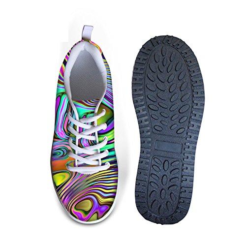 Câlins Idée Classique Galaxie Impression Plate-forme De Femmes Chaussures De Marche Bande 5