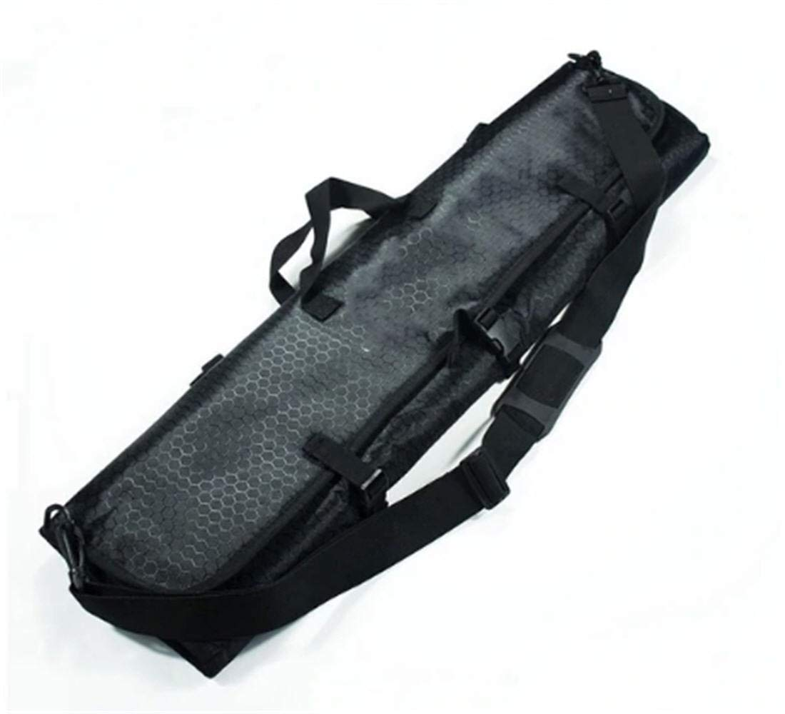 Black bow bag Portable Foldable Recurve Bow Case or Arrow Quiver Archery Bow Bag Shoulder Handle Carrying Shooting Hunting Recurve Bow Bag