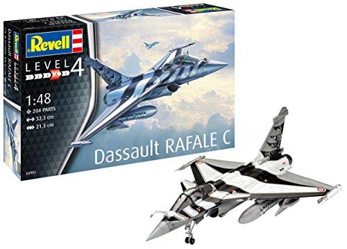 Revell 03901 Dassault Rafale C, 1:48 scale Plastic Model kit