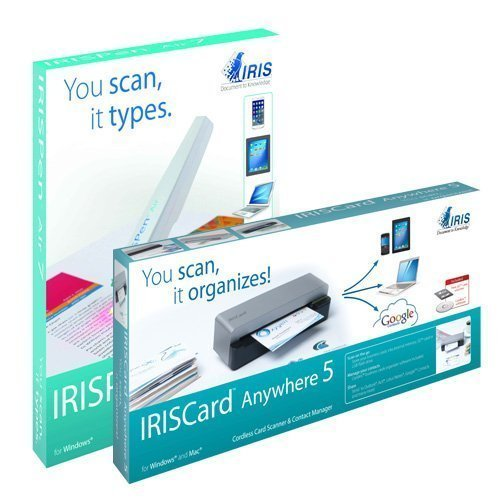 IRISPen Air 7 and IRISCard Anywhere 5 Special Combination Bundle 457486