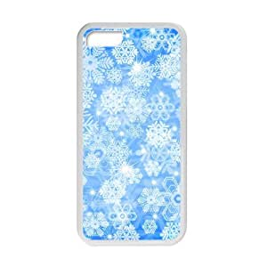 Welcome!Iphone 5C Cases-Brand New Design Snowflake High Quality TPU For Iphone 5C 4 Inch -01