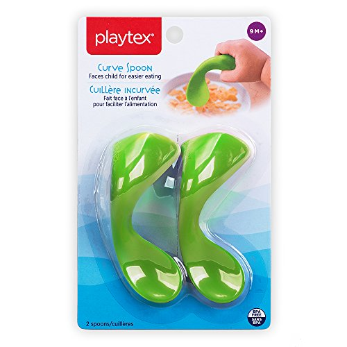 Playtex 2 Piece Baby Curve Early Self-Feeding Spoons