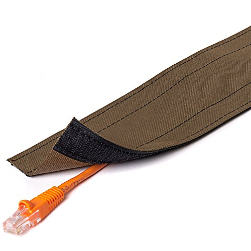 3 wide dura race carpet cord cover 50ft length color brown. Black Bedroom Furniture Sets. Home Design Ideas