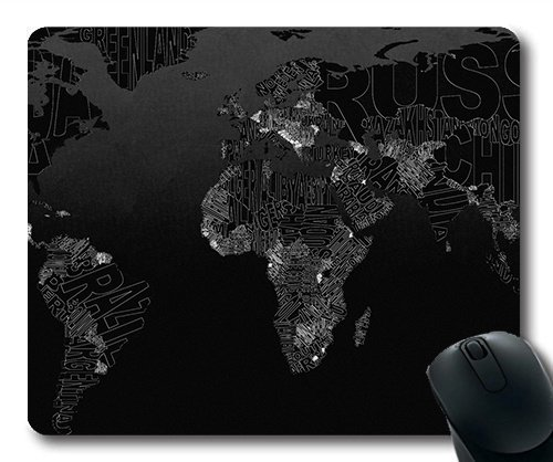 Magic map gaing Mouse pad, World Desktop Map Mouse mat YT (048 Magic)
