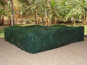 Amazon De Xxl Abdeckplane Schutzhulle Fur Gartenmobel 3x3x0 9m