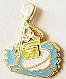 Canoeist Whitewater Kayaker Enamel and Metal Pin Badge