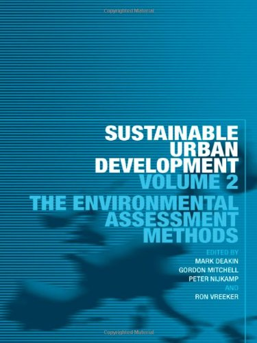 Sustainable Urban Development: The Environmental Assessment Methods