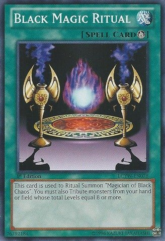 Yu-Gi-Oh! - Black Magic Ritual (LCYW-EN078) - Legendary Collection 3: Yugi's World - 1st Edition - Common (Best Ritual Cards Yugioh)