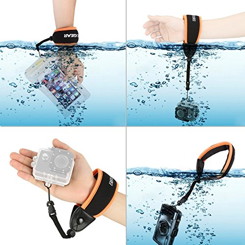 Review Waterproof Camera Float, BIRUGEAR