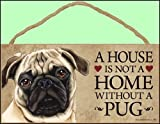 Dog Lovers' Decorative Wooden Wall Plaque Sign 10' x 5