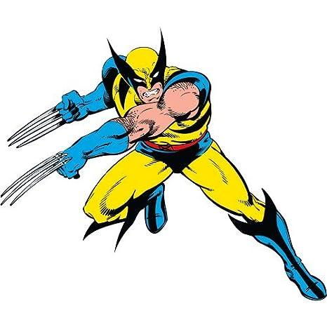 Compañeros de habitación Rmk2354Gm Marvel Wolverine Classic pelar ...