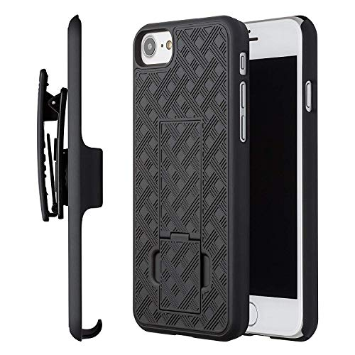 (Verizon Shell Holster Case Combo for iPhone 6 Plus, Black)