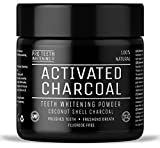 Image of Activated Charcoal Natural Teeth Whitening Powder by Pro Teeth Whitening Co   Manufactured in England