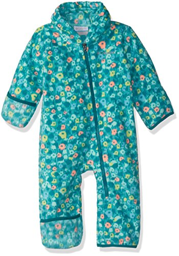 Columbia Unisex Baby Infant Snowtop II Bunting, Pixie Floral Print, 6/12