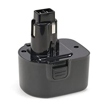 REEXBON 12V 3000mAh Batería de Repuesto NIMH para Black + Decker A9252 A9266 A9275 PS130 PS130A FS12 Dewalt DE9086 DE9274 DE9501 DW9071 DW9072 EZWA49 ...