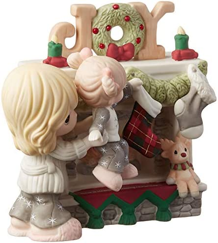 Precious Moments Hearth Warming Christmas Mother Daughter Bisque Porcelain 191028 Figurine One Size Multi
