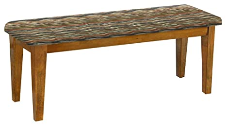 Prime Amazon Com Oak Dining Bench Shaker Design With A Padded Lamtechconsult Wood Chair Design Ideas Lamtechconsultcom