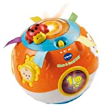 #9: VTech Move and Crawl Baby Ball, Orange (Frustration Free Packaging)