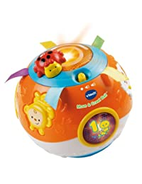 VTech Move and Crawl Baby Ball, Orange (Frustration Free Packaging) BOBEBE Online Baby Store From New York to Miami and Los Angeles