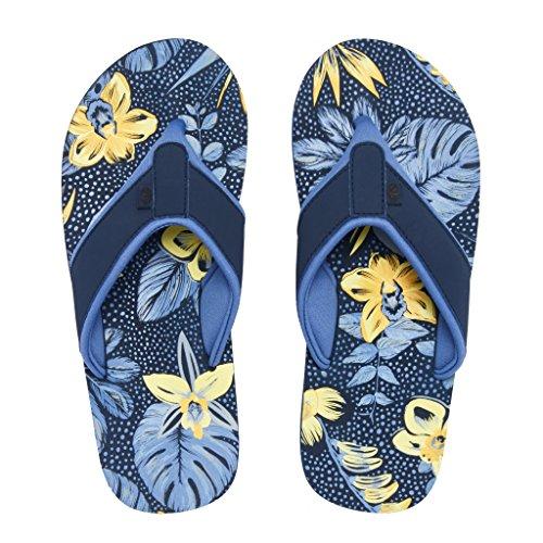 Animal Womens/Damen Swish AOP Flip Flops Dunkles Marineblau