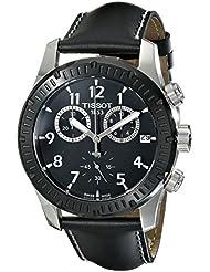 Tissot Mens T0394172605700 Analog Display Swiss Quartz Black Watch