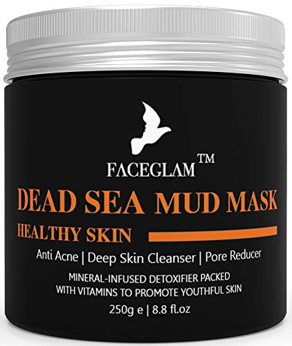NEW Original Dead Sea Mud Mask  For Healthy Looking Skin  Anti Acne  Deep Skin Cleanser  Pore Reducer  8.8 Ounces