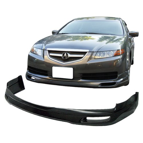 - 04-06 Acura TL Type-1 Poly-Urethane Add-On Front Bumper Lip Spoiler Bodykit