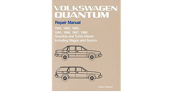 Volkswagen Quantum Official Factory Repair Manual: 1982-1988, Gasoline and Turbo Diesel, Including Wagon and Syncro: Amazon.es: Volkswagen of America: ...