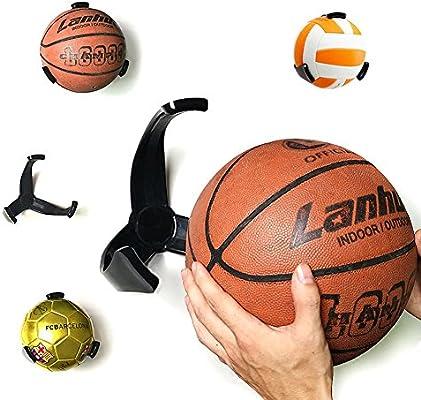 unetox bolas Pinza para pared soporte para pelota de baloncesto ...