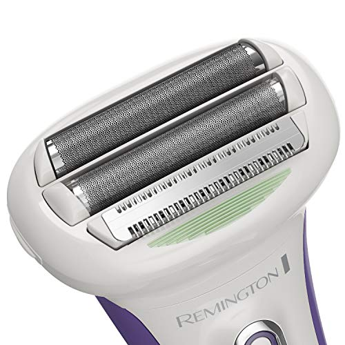 Remington WDF5030ACDN Smooth & Silky Electric Shaver for Women, White/Purple
