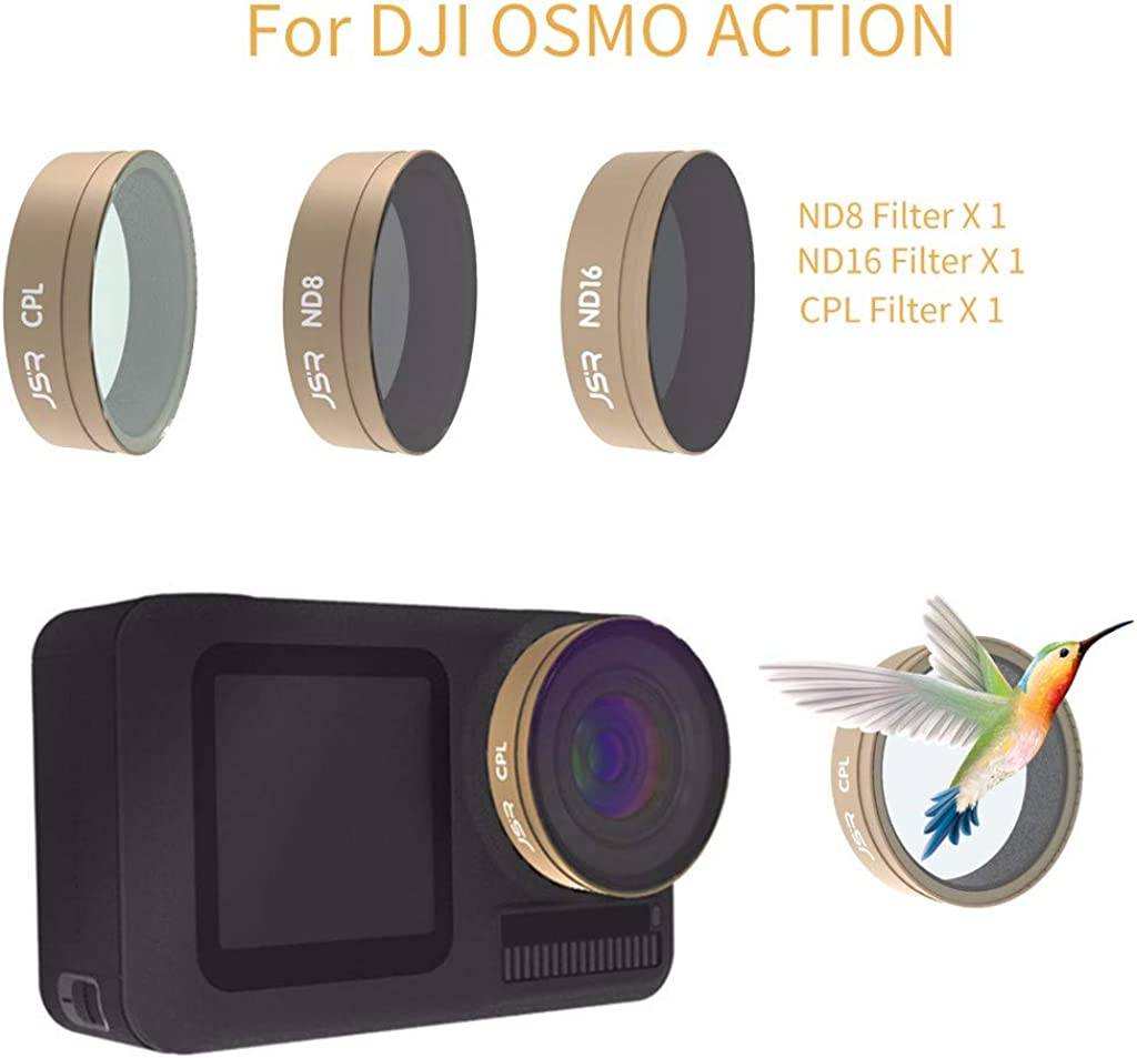 Startview Camera Lens Filters for DJI OSMO Action