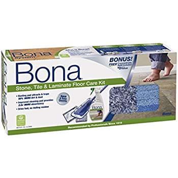 Amazon Bona Stone Tile Laminate Floor Care System 4 Piece