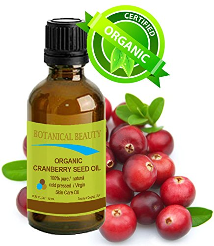 CRANBERRY SEED OIL ORGANIC 100% Pure / Natural / Undiluted/