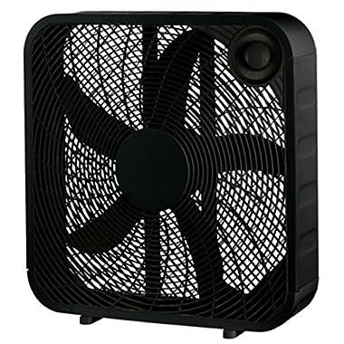 WP 20  BLK Box Fan