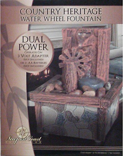 Country Heritage Water Wheel Fountain