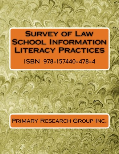Survey of Law School Information Literacy Practices
