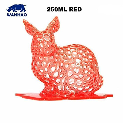 Wanhao 3D Printer 250ML UV Resin (Black)