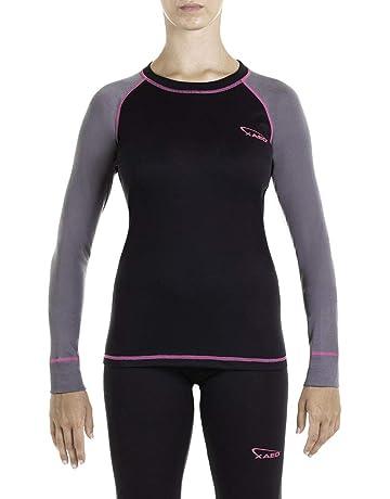 5d5339370c Ropa interior térmica de esquí para mujer