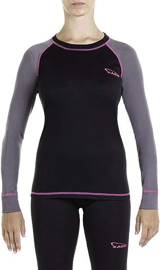 XAED I101075-001 Camiseta Térmica, Mujer: Amazon.es: Deportes y aire libre