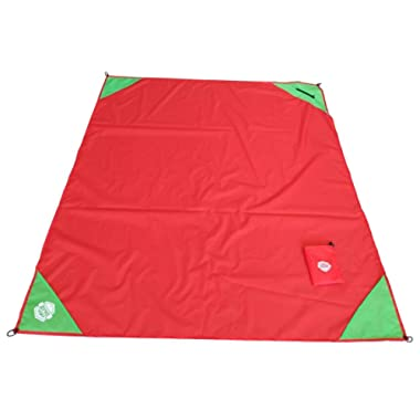 DMZ Outdoor Premium Pocket Blanket, Compact, Waterproof, Durable, Lightweight, Sand Proof, Ideal for the Picnic, Beach, Travels, Hiking, Camping, Concerts and Festivals.Perfect Gift!