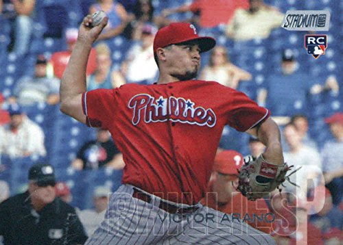 2018 Topps Stadium Club #210 Victor Arano RC Rookie Philadelphia Phillies MLB Trading Card