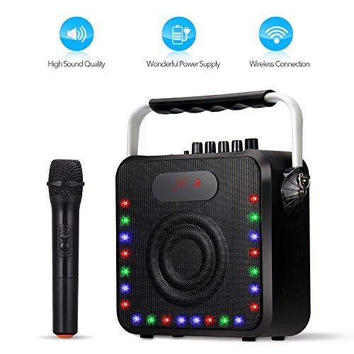 Portable System Built Rechargeable Microphone