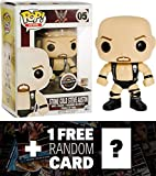 Stone Cold Steve Austin (GameStop Exclusive): Funko POP! x WWE Vinyl Figure + 1 FREE Official WWE Trading Card Bundle (071233)