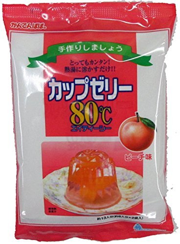 Viewpoint Papa cup jelly Peach taste 100gX2 bags about 6 servings x2 bags by Viewpoint Papa