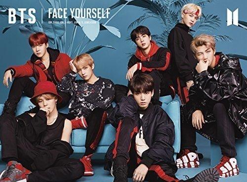 BTS 방탄소년단 FACE YOURSELF(첫 한정반A)(Blu-ray부) CD+Blu-ray,한정판