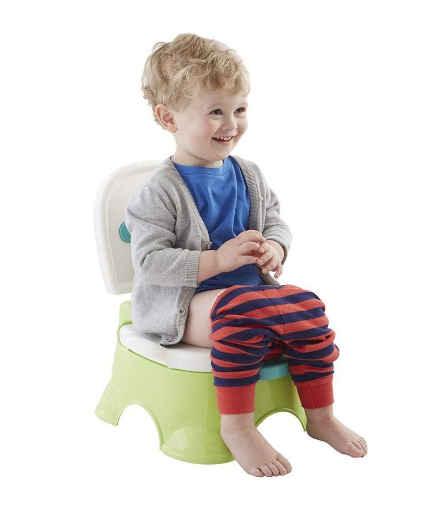 Fisher-Price Orinal aprendo y me divierto, orinal para bebé +1 año (Mattel P4325)